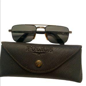 VTG Police aviator Italy sunglasses